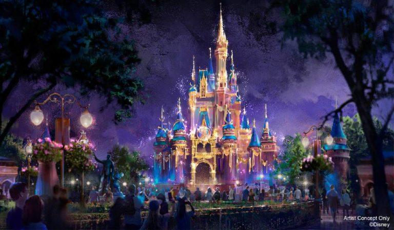 Make a plan for the Walt Disney World Resort 50th Anniversary Celebration